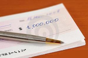 cheque sem assinatura